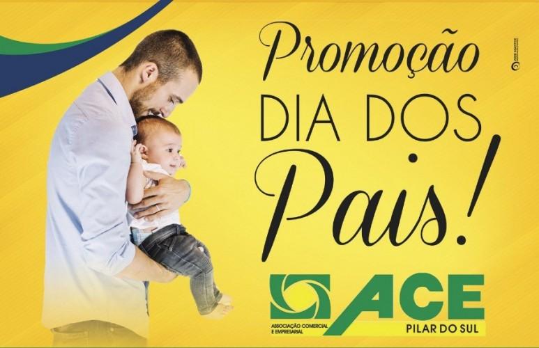 R$ 5 MIL EM VALES-COMPRA NA PROMOÇÃO DO DIA DOS PAIS