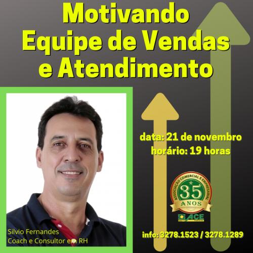 ACE TRAZ CURSO MOTIVACIONAL PARA EQUIPE DE VENDAS