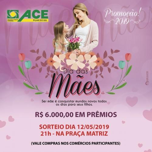 """PROMOÇÃO """"DIA DAS MÃES"""" SORTEIA R$ 6 MIL EM VALES-COMPRA"""