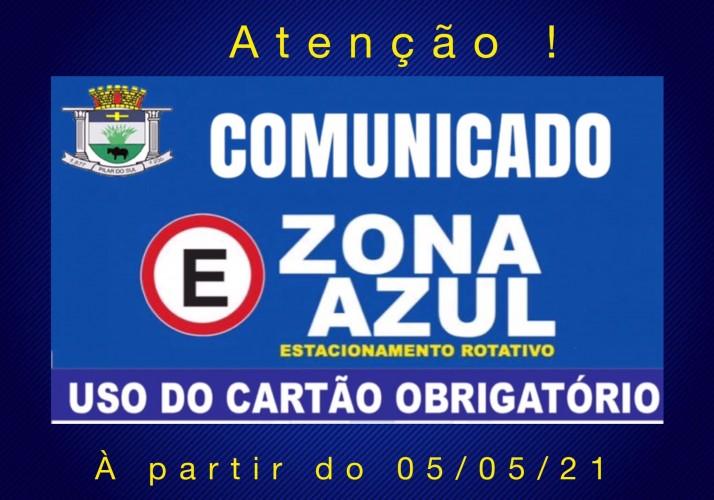 ZONA AZUL VOLTA A FUNCIONAR NO DIA 5 DE MAIO